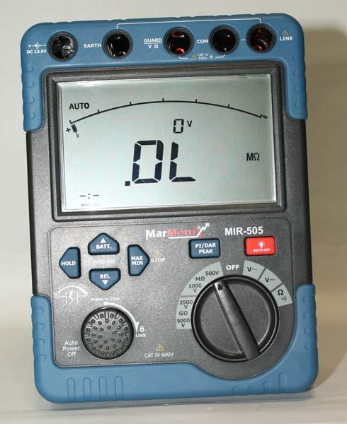 Marmonix High Voltage Insulation Tester (MIR-505)