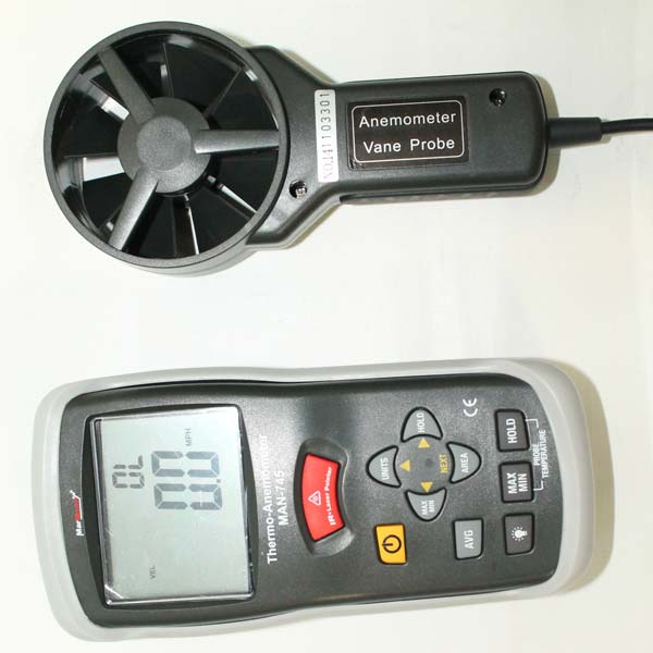 Marmonix Thermometer Anemometer with Infrared (MAN-745)