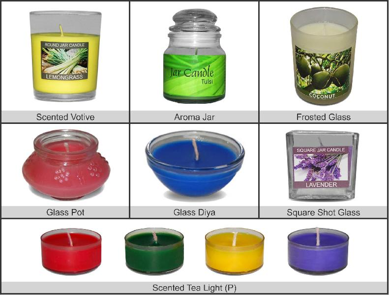 Scented Candles (Aroma Candles)