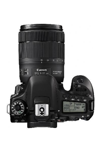 Canon EOS 80D Digital SLR Kit with EF-S 18-135mm f/3.5-5.6 Image Stabilization USM Lens