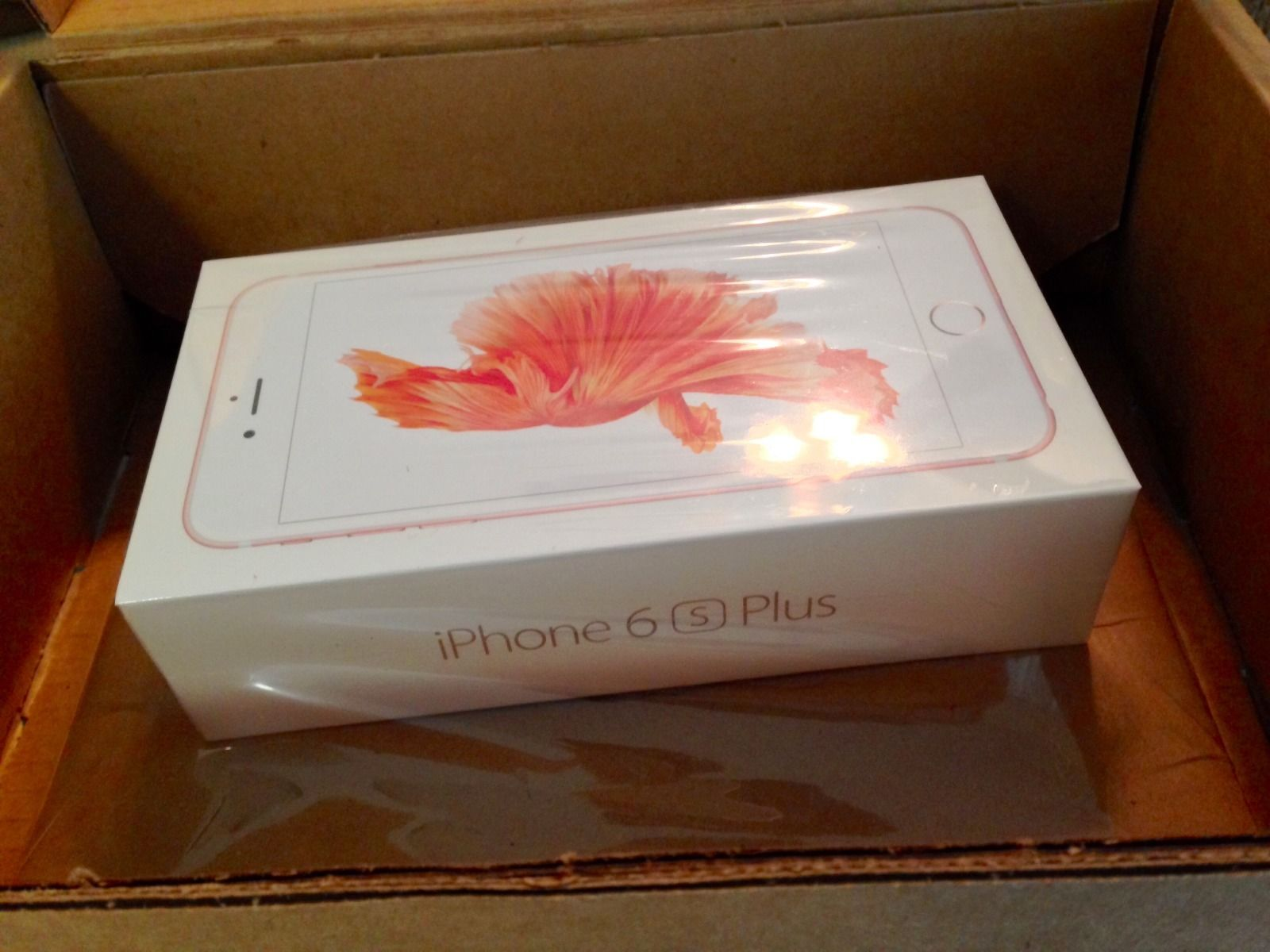 Apple Iphone 6 S Plus Rose Gold 64gb Worldwide Shipping