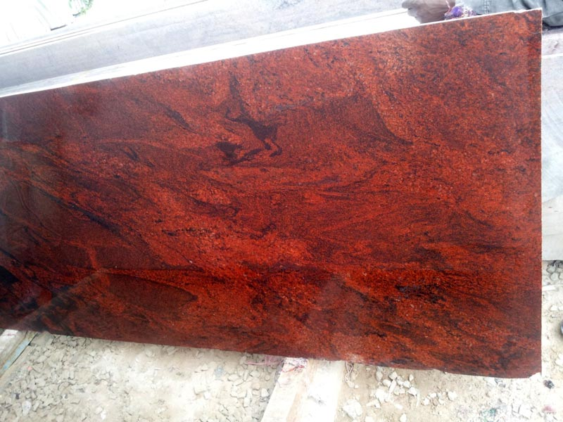 Product Red Granite : Multi red granite slab manufacturer in karnataka india by