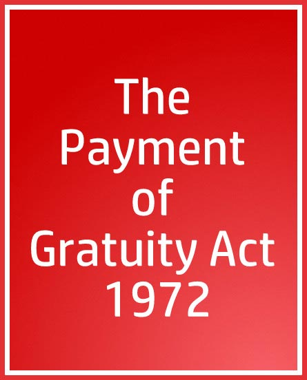 gratuity payment in india