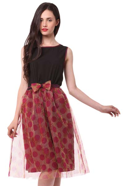 fb26071e6dc0 Ladies Knee Length One Piece Dress Manufacturer in New Delhi Delhi ...