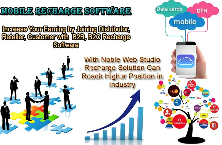 Buy Mobile Recharge Software from Noble Web Studio Pvt Ltd, Jaipur