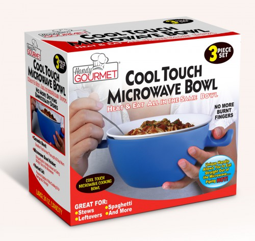 BLUE COOL TOUCH MICRO BOWL