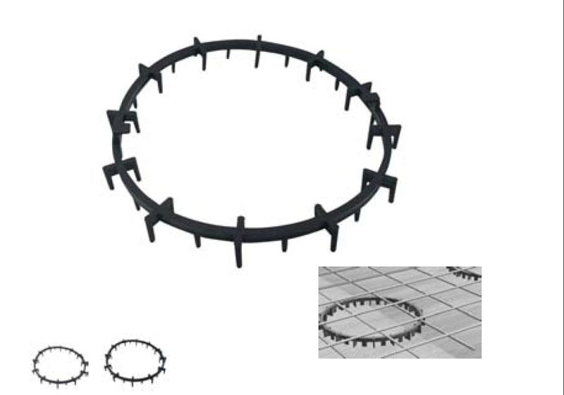 Plastic Circular Spacers