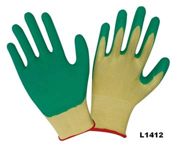 Latex Coated Gloves (L1412)
