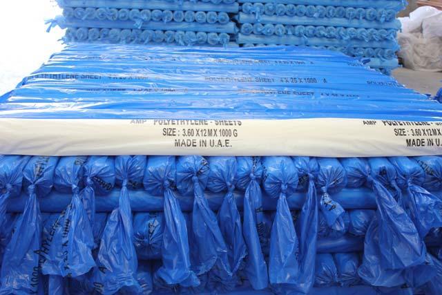 Polyethylene Sheet (3.6 x 12 M x 1000 Gauge)