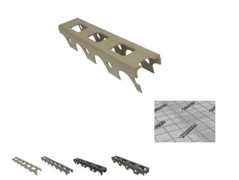 Profile Spacers With Holes