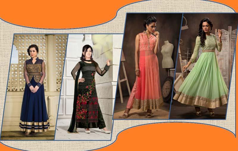 210dd82ecbc Designer Anarkali Suit Manufacturer in Surat Gujarat India by ...