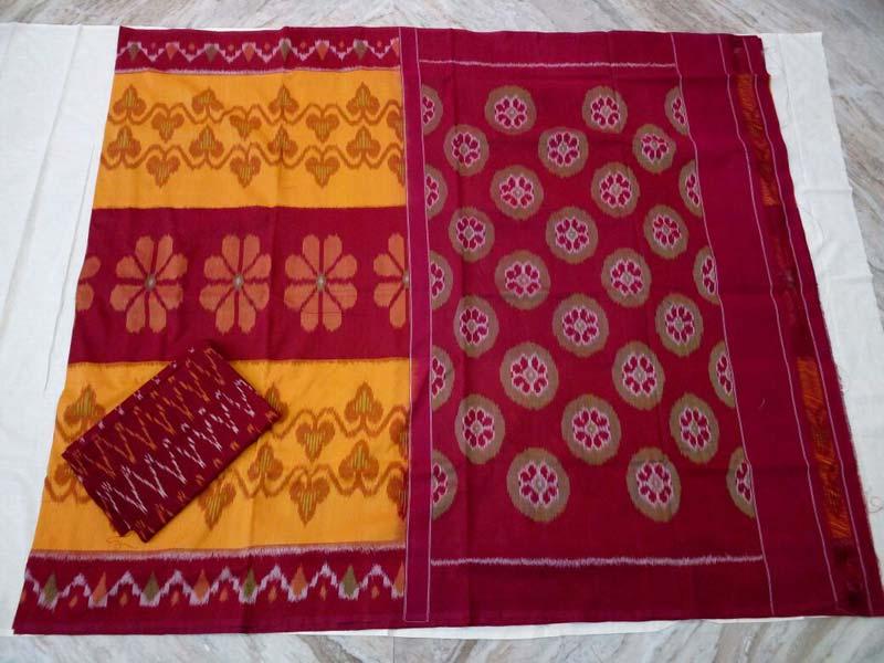 Pochampally double ikkath cotton saree. Manufacturer in Hyderabad ...