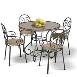 Iron Dining Set