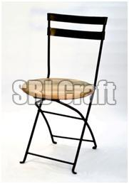 Astounding Wood And Metal Folding Chair Manufacturer In Jaipur Gmtry Best Dining Table And Chair Ideas Images Gmtryco