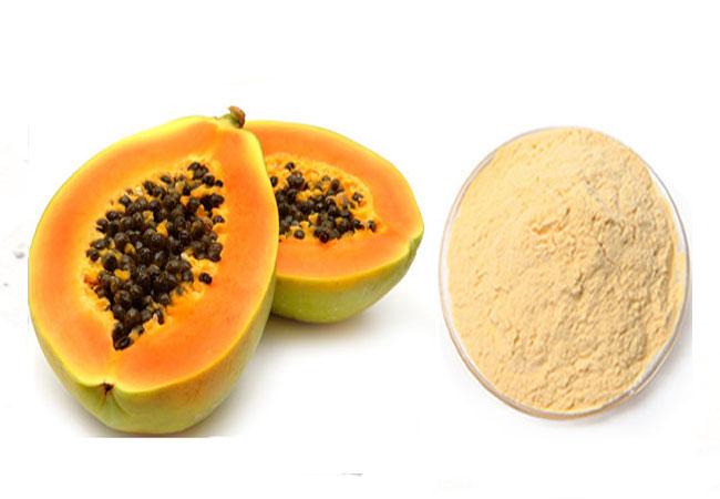 dried papaya powder