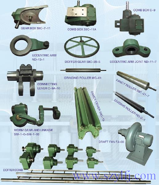 Spare Parts Of Carding Machine