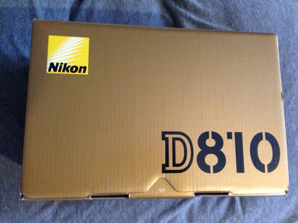New Nikon D D810 363 Mp Digital Slr Camera Black Body Only Sealed