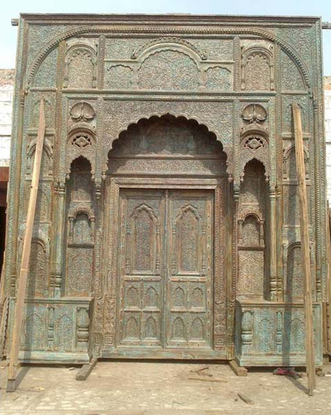 Antique Carved Wooden Doors - Antique Carved Wooden Doors Manufacturer & Manufacturer From Jodhpur