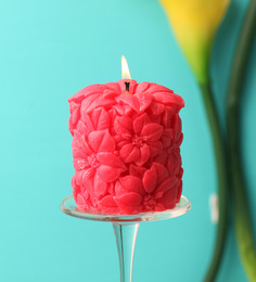 Rose  Pillar Candle