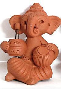 Terracotta Ganesha Statue
