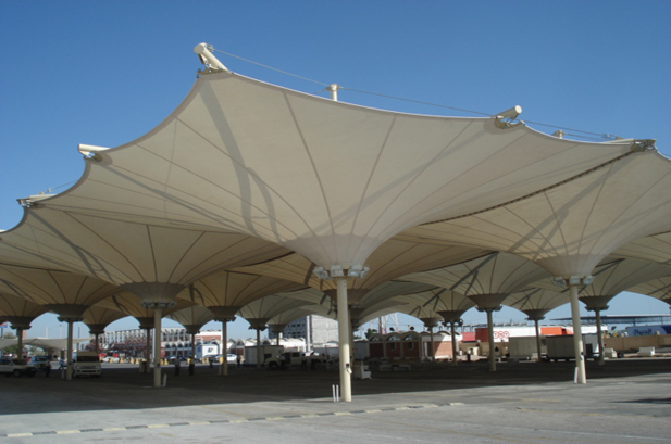 Tensile Membrane Structures Manufacturer By Midas