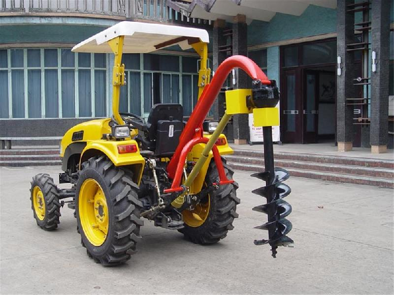 high performance tractor post hole digger for sale