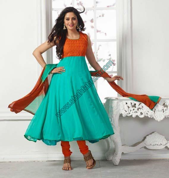 Georgette Unstitched Suits