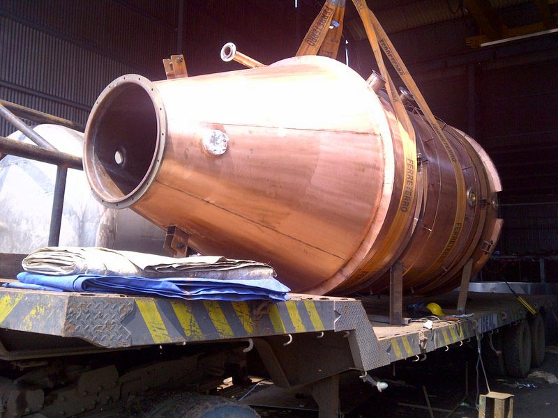 Copper Distillation Vessel