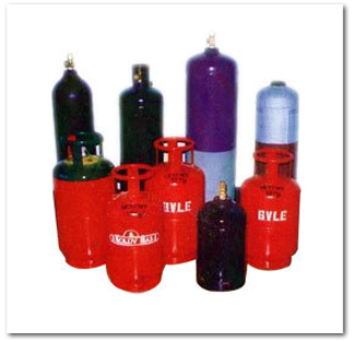 REFRIGERATION GASES CYLINDERS