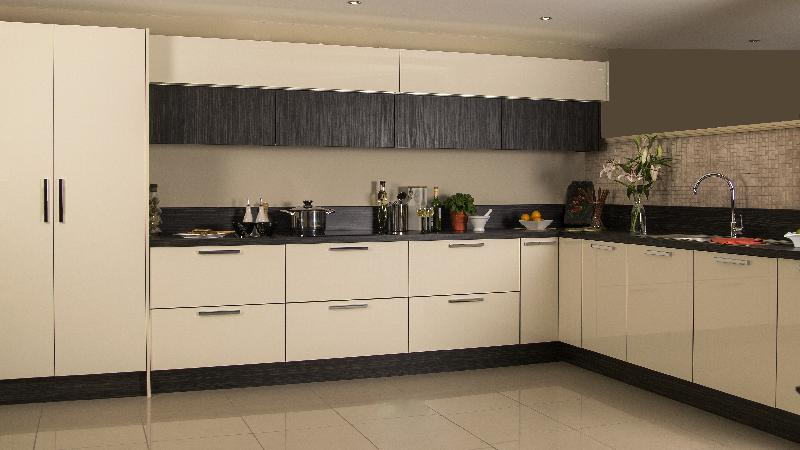 Acrylic Kitchen Cabinets 01