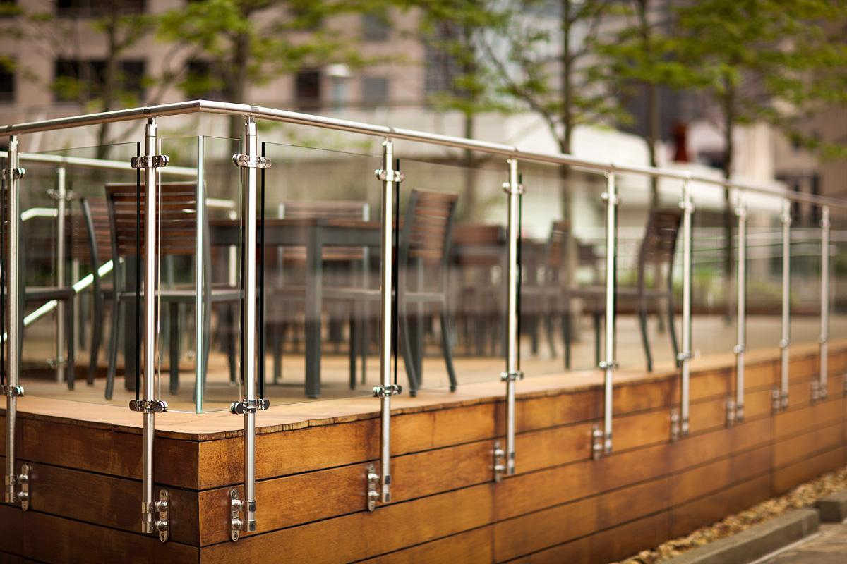 Stainless Steel Railing With Glass Manufacturer in ...