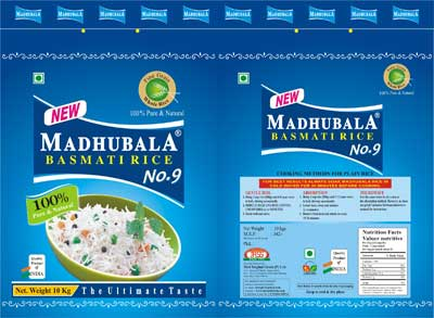 Madhubala Non Woven Rice Packaging Bag