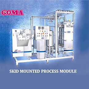 Skid Mounted Plant Manufacturer in Maharashtra India by Goma