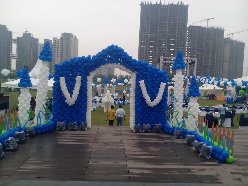 Services balloon decoration in jaipur from Rajasthan India by