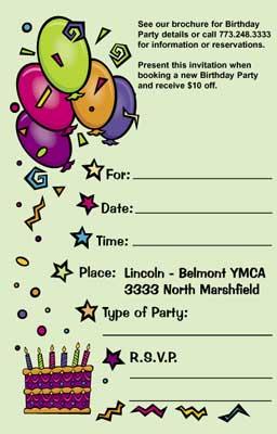 Birthday Invitation Card (Birthday Invitation )