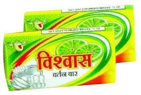 Vishwas Dishwash Detergent Bar (Vishwas Dishwash Det)