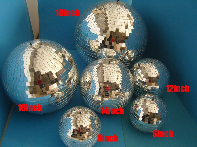 14 Inch Mirror Ball Reolite