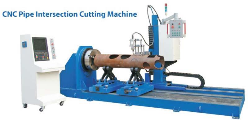 CNC Pipe Intersection Cutting Machine