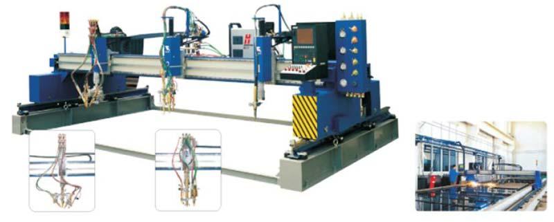 Precision CNC Flame Plasma Cutting Machine