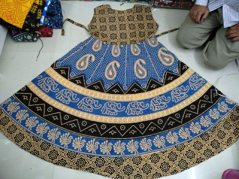 Jaipuri Printed Dress (jaipuri middi)