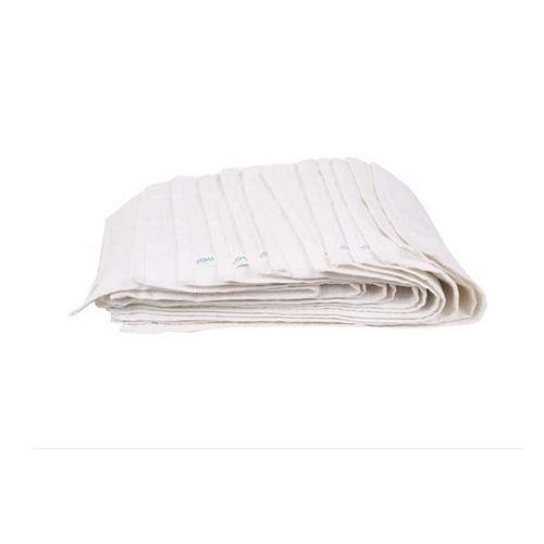 White Colored Napkin Towel Set