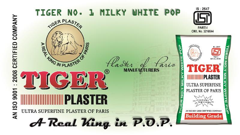 Tiger Plaster Of Paris