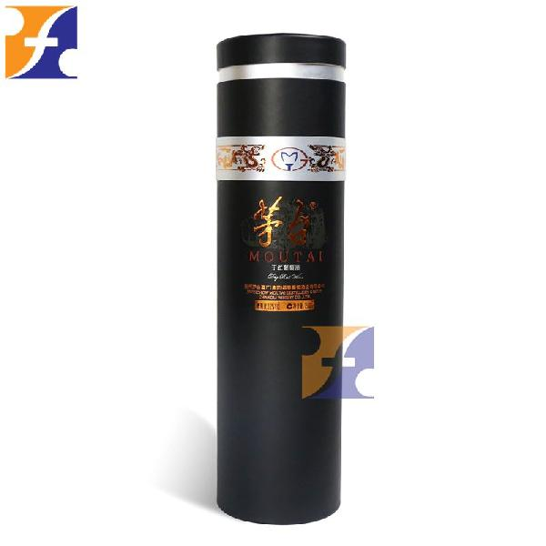 Round Cylinder Packaging Paper Box For Wine With Lid Manufacturer In