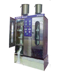 Double Head Milk Pouch Packing Machines Manufacturer in