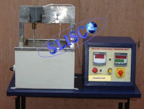 unsteady state heat transfer Unsteady state heat transfer analytical solutions are available for temperature distribution and heat flow as a function of time and position for simple solid shapes which are suddenly subjected to convection with a fluid at a constant temperature.