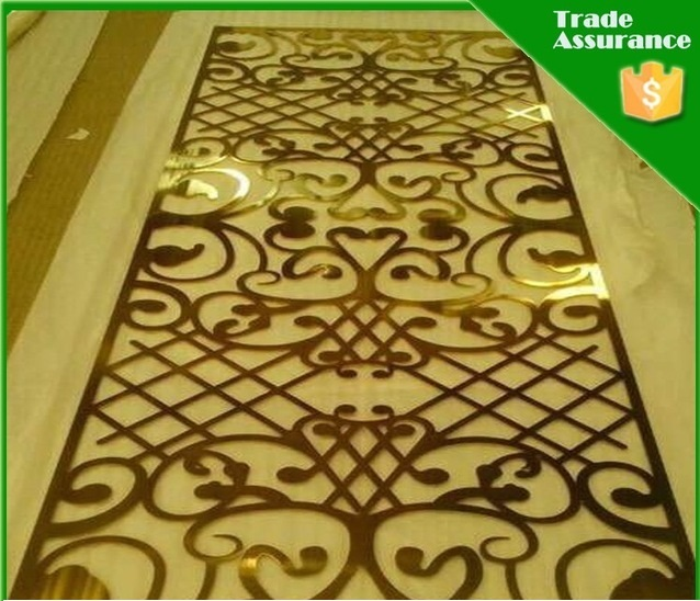 304 Decorative Metal Grille Panels Manufacturer In Malaysia By