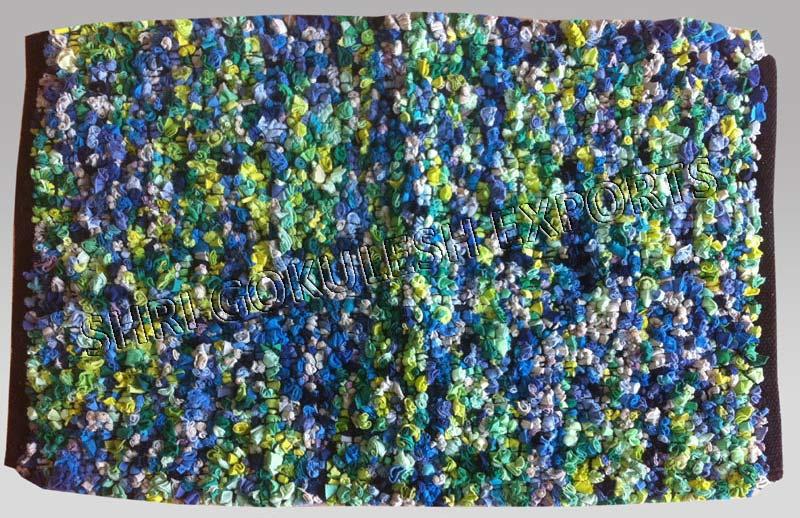 Cotton Handloom Carpet (SG-CRR-527)