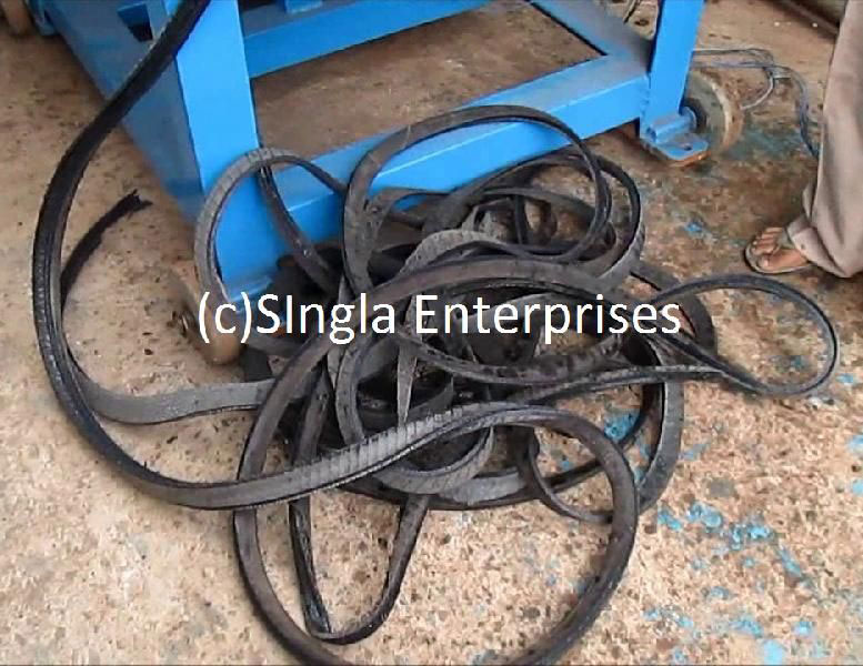Tyre Strip Cutting Machine