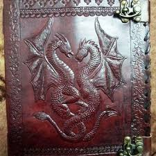 Caltic diary leather not book