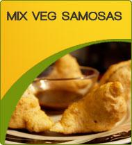 Frozen Mixed Veg Samosa